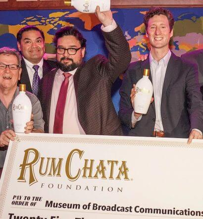 RumChata Foundation, check presentation, featured