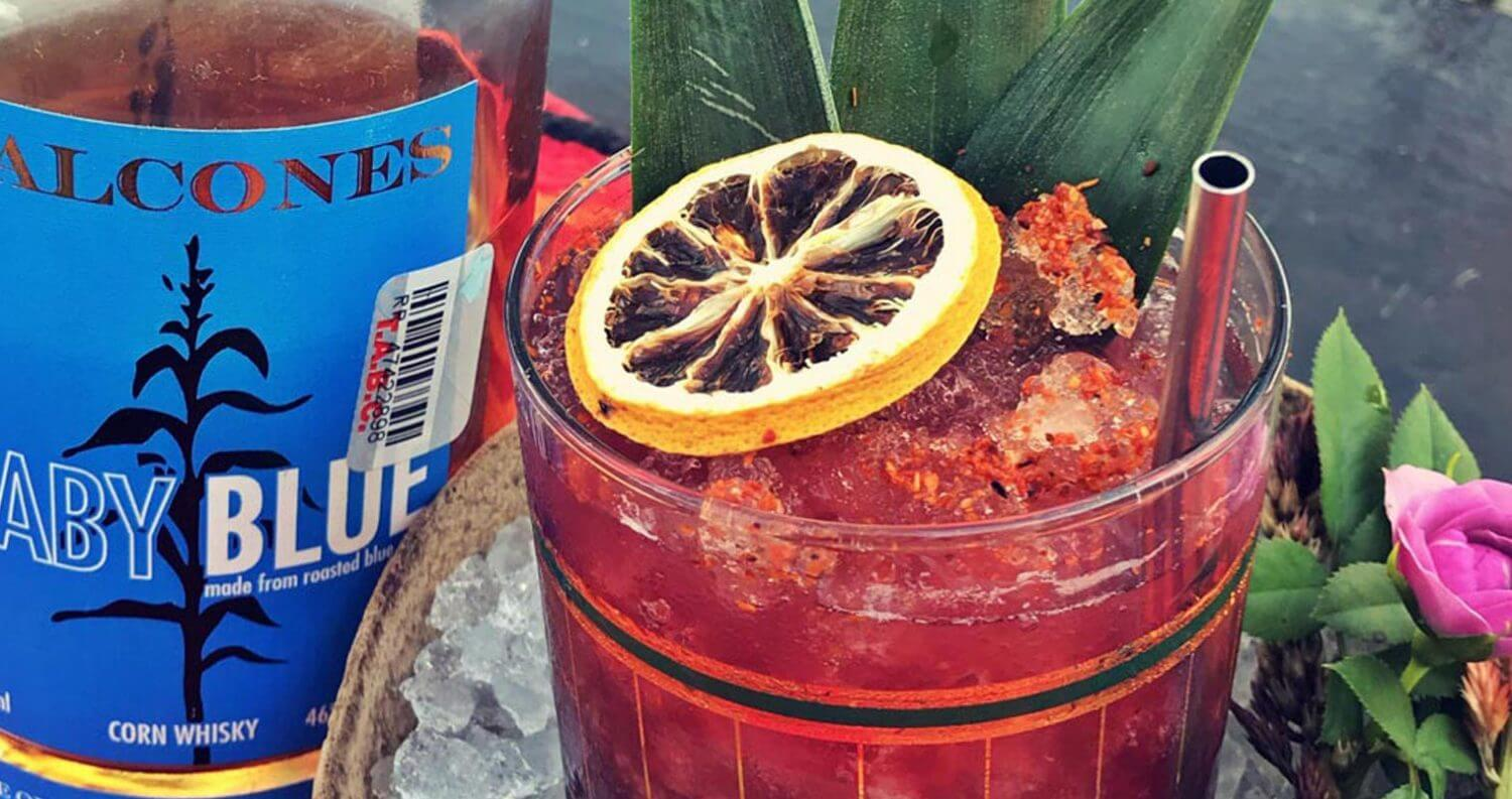 southern blues punch, balcones recipes, featured image