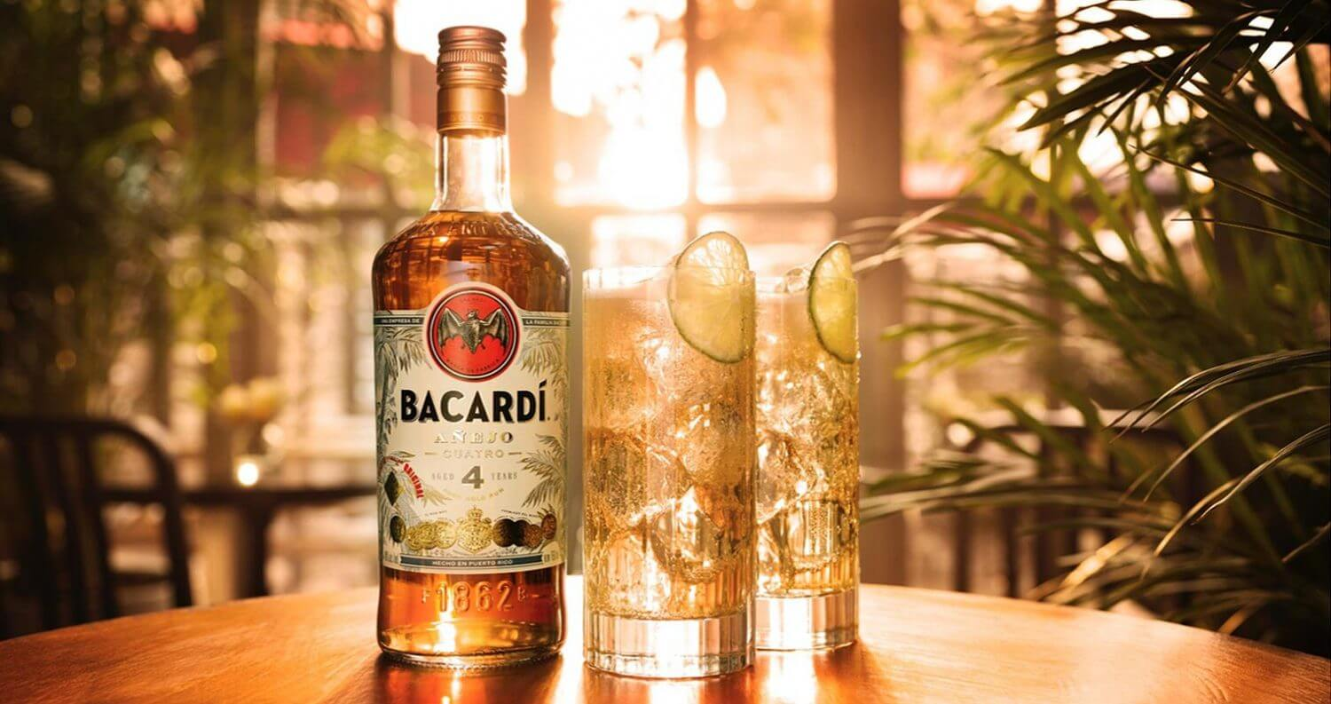 BACARDÍ Cuatro Highball, feature dimage
