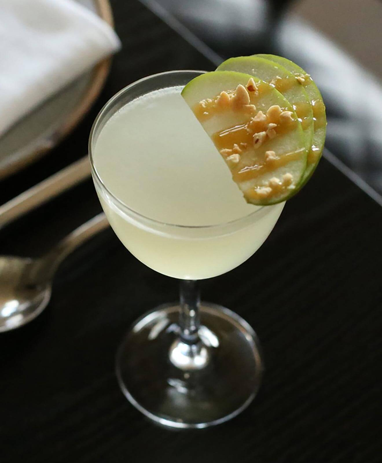 Carmel Apple Martini