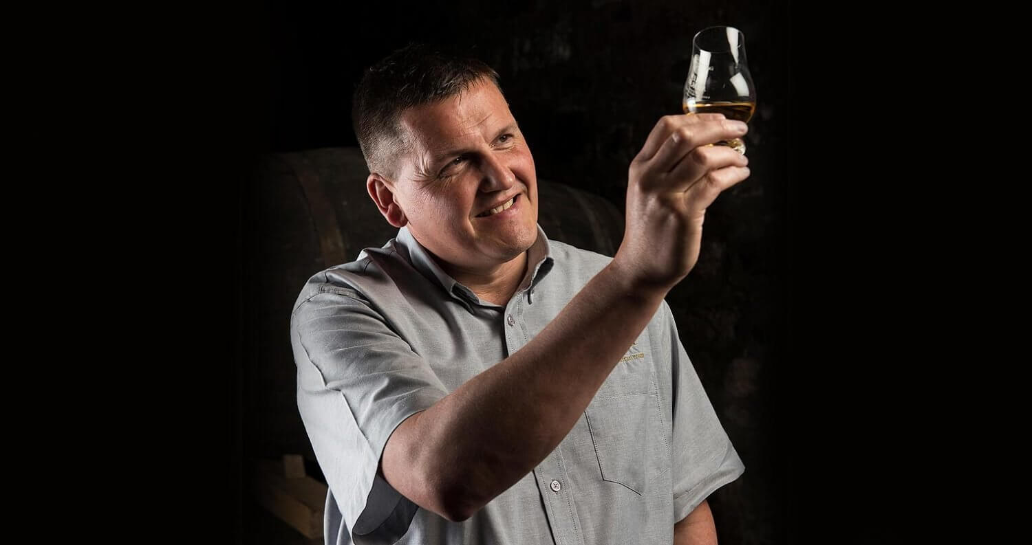 Graham Coull, master distiller, glen moray distillery, featured image