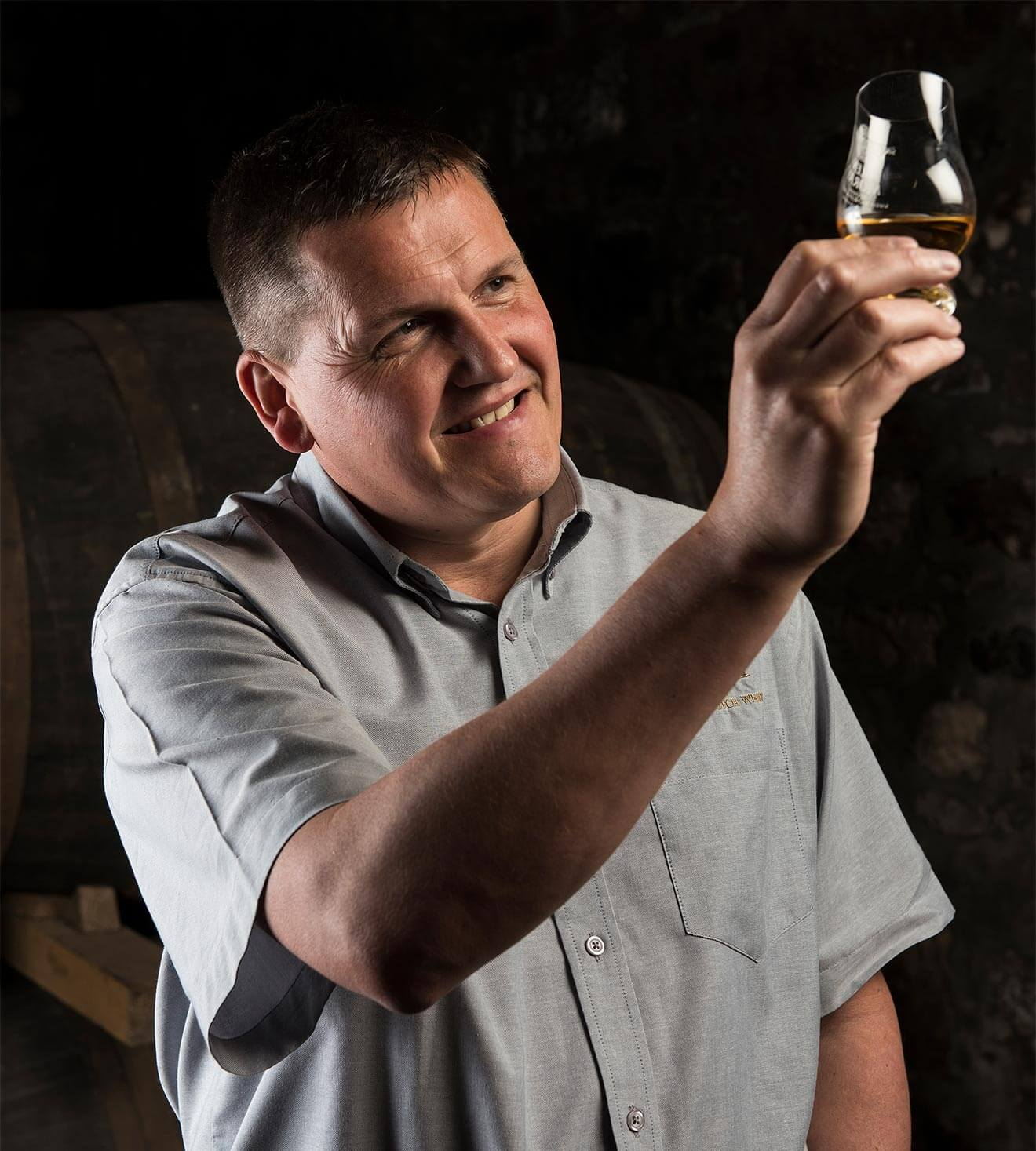 Graham Coull, master distiller, glen moray distillery