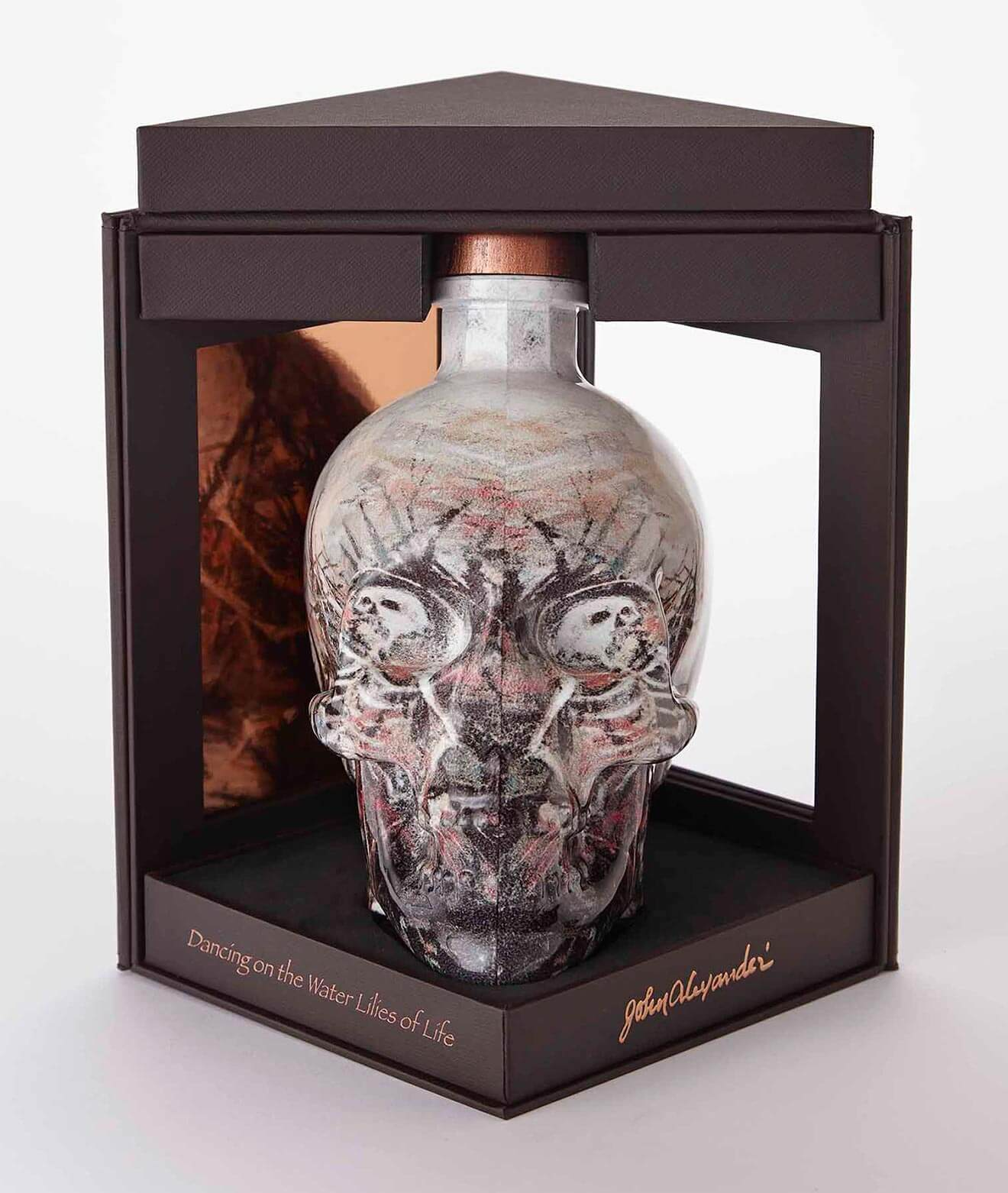 John Alexander Artist Series Bottle and Packaging