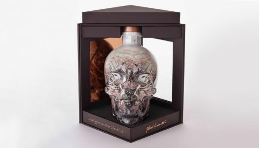 Crystal Head Vodka Launches 10-Year Commemorative John Alexander Artist Series Bottle