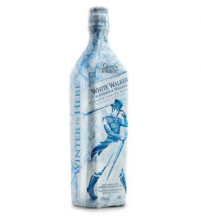 Johnnie Walker White Walker, bottle on white, featured image