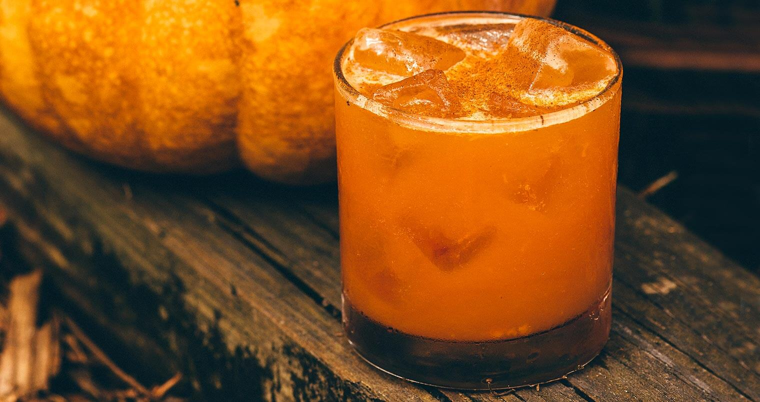 Smashing Pumpkins, cocktail and pumpkin