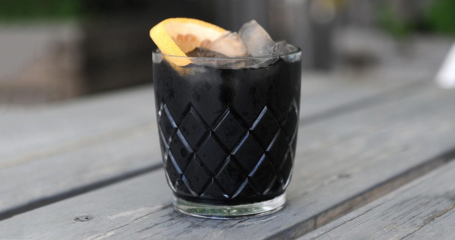 The Dark Side cocktail, featured image