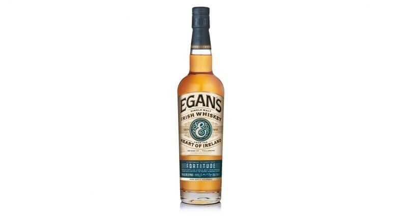 Egan's Irish Whiskey Fortitude, bottle on white, featured image