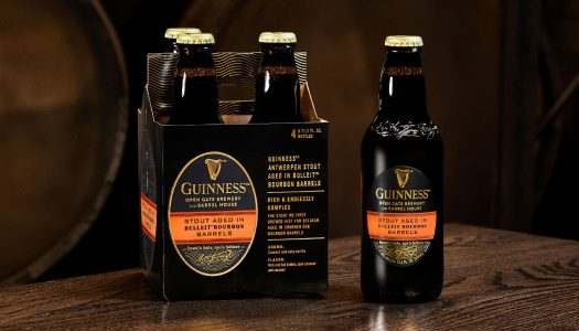 Guinness Launches Barrel-Aged Beer Aged in Bulleit Bourbon Barrels