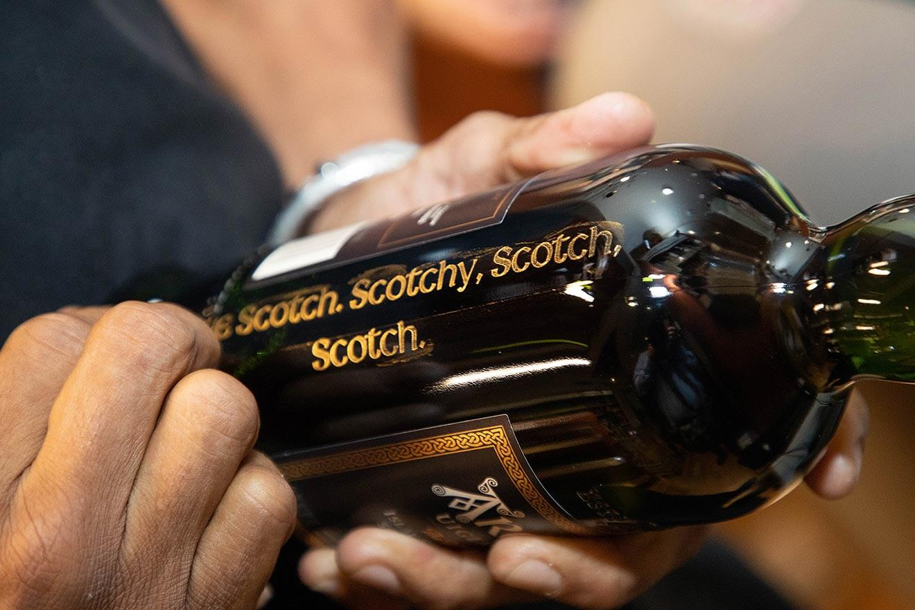 Personalized Ardbeg Bottle
