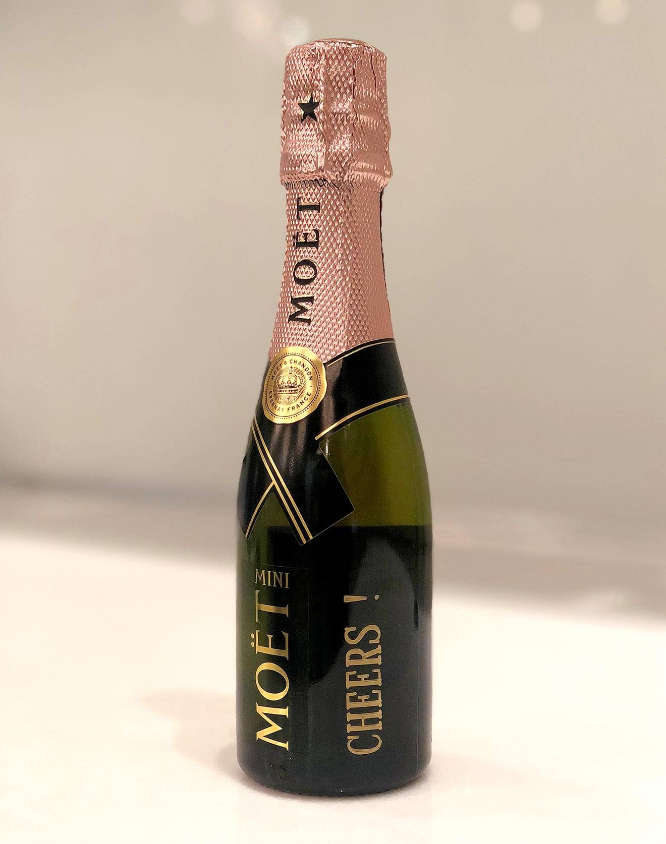 Personalized Moët Mini bottle