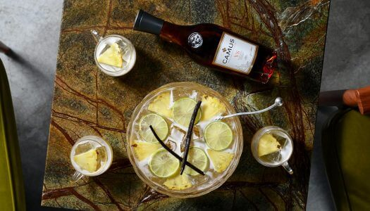 Chilled Drink of the Week: Camus Christmas Punch