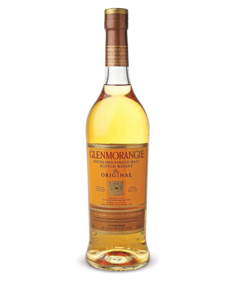 Glenmorangie The Original, bottle on white