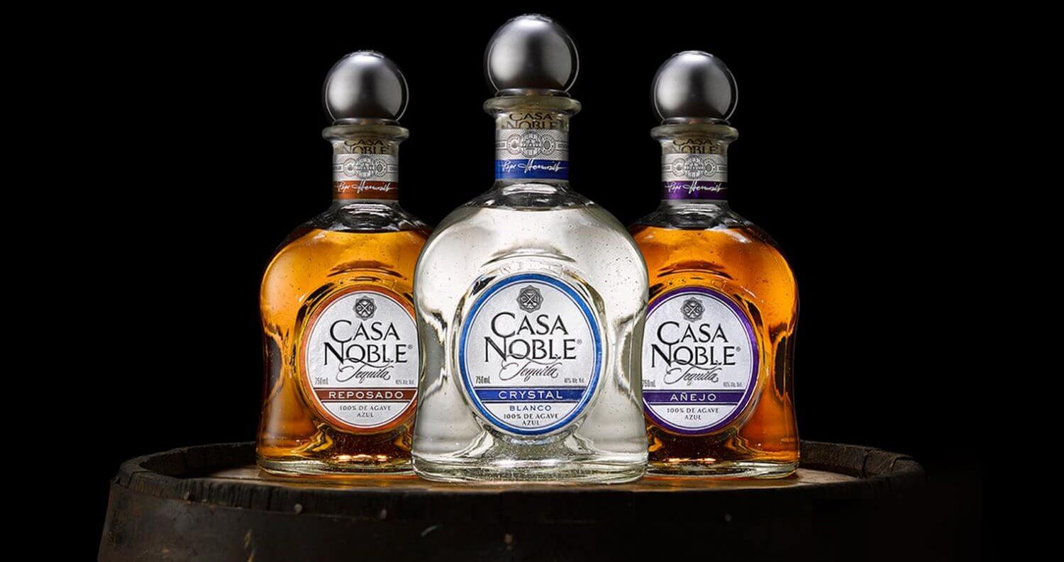 casa noble bottle varieties on black background, featured image