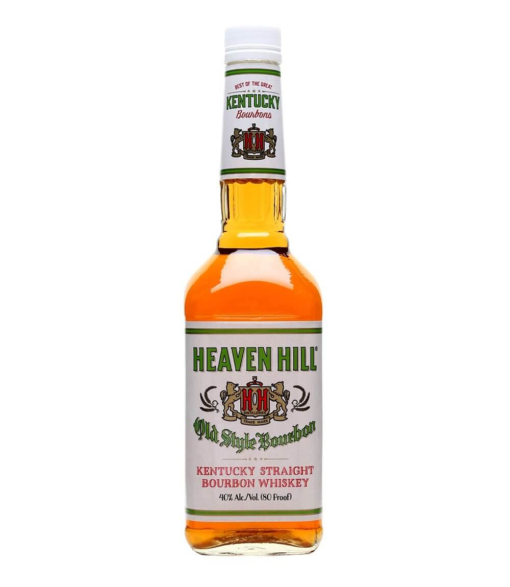 Heaven Hill Kentucky Straight Bourbon, bottle on white