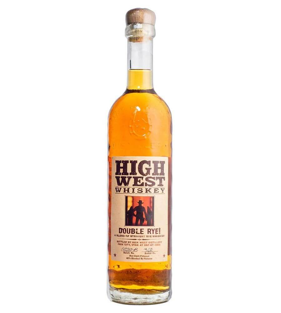 High West Double Rye!, bottle on white