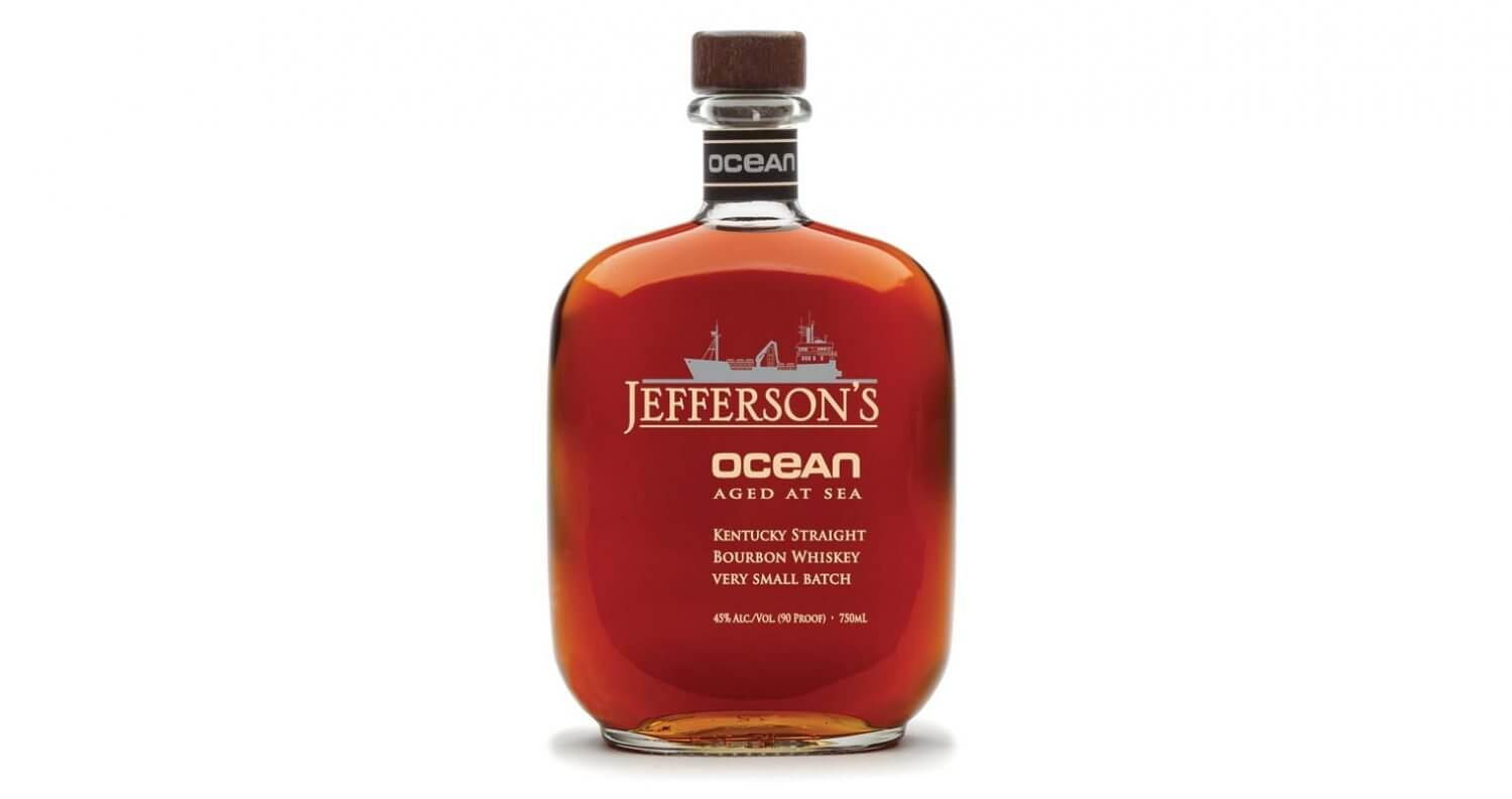 Jefferson's Ocean bottle on white, featured image