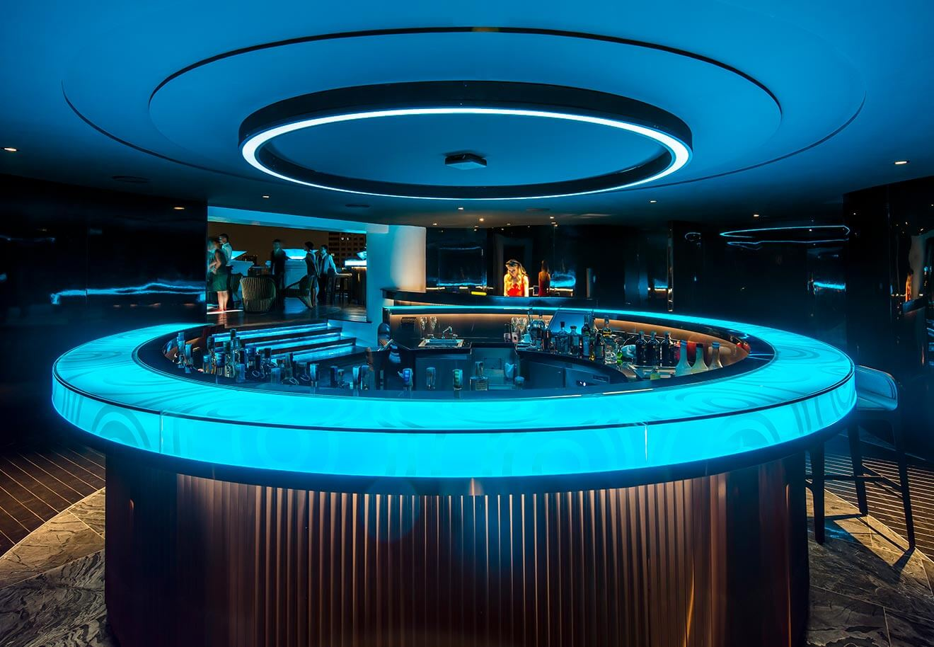 Lebua No. 3 circular bar view
