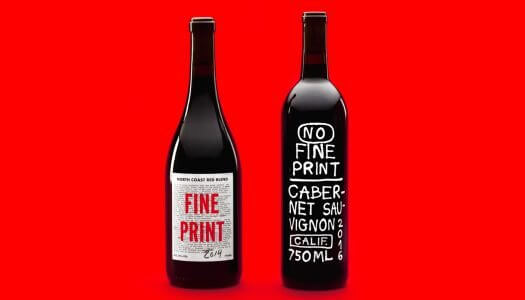 No Fine Print Wants to Make Wine Drinking Fun Again