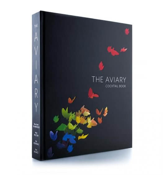 The Aviary Cocktail Book, book on white background featured image