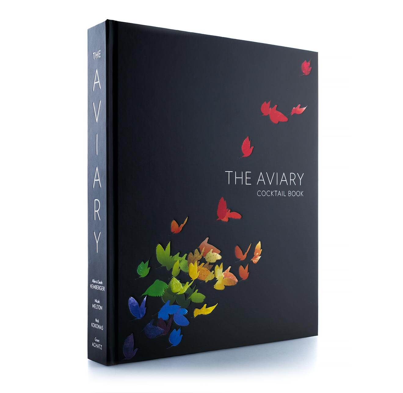 The Aviary Cocktail Book, book on white background
