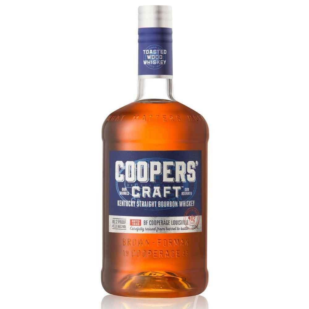 Cooper's Craft, bottle on white