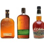 Bourbon and Rye Varieties, bottles on white, featured image