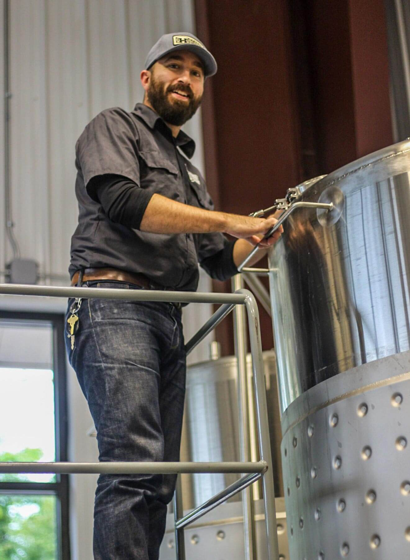 Chris Roedel of Hatch Distilling