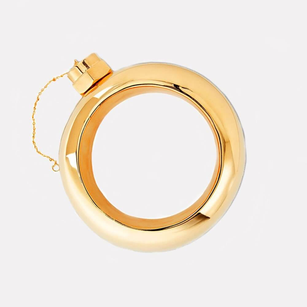 Cynthia Rowley Gold Flask Bangle