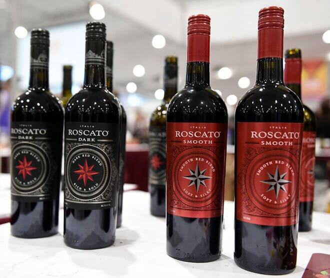 Roscato Dark & Roscato Smooth groups of bottles