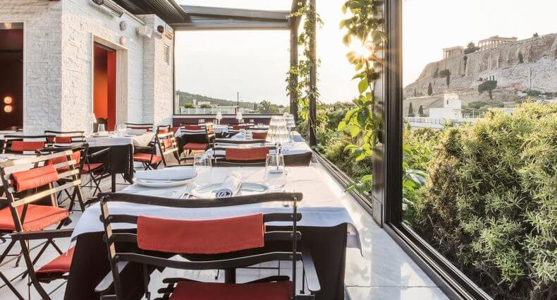 Sense Restaurant, outdoor dining with a view, featured image