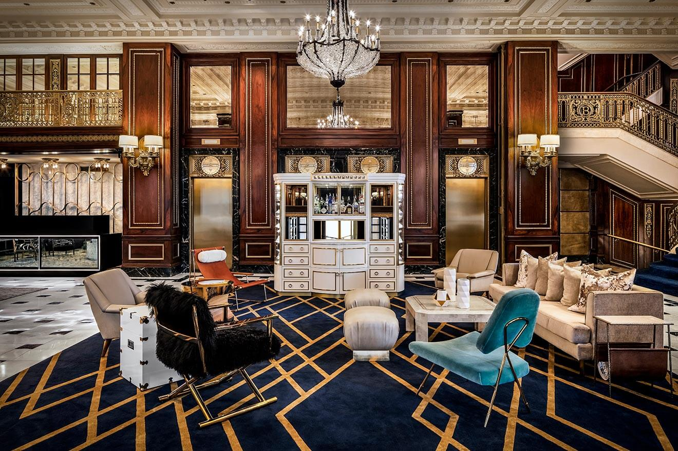 The Blackstone Hotel Autograph Collection Lobby - Timothy's Hutch
