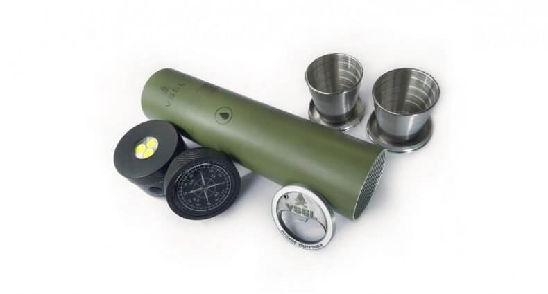 VSSL Flask with accessories, featured image