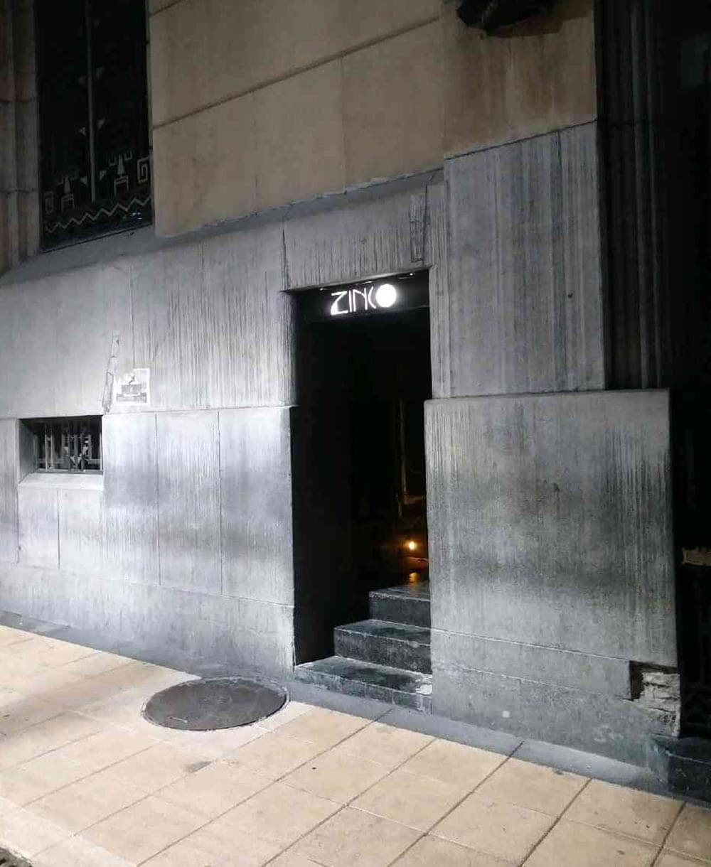 ZInco door entrance