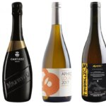 WInter White WInes, bottles on white, featured image