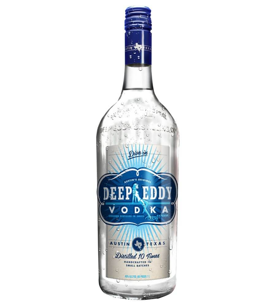 Deep Eddy Vodka, bottle on white