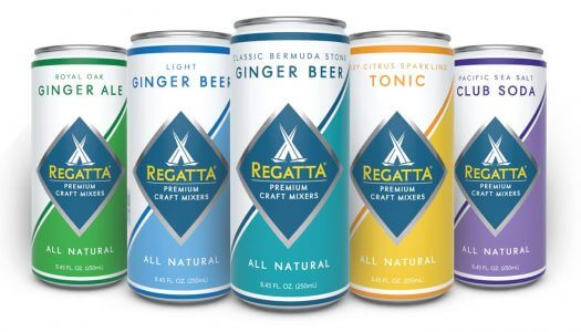 Regatta Expands With 3 New Flavors of Craft Cocktail Mixers