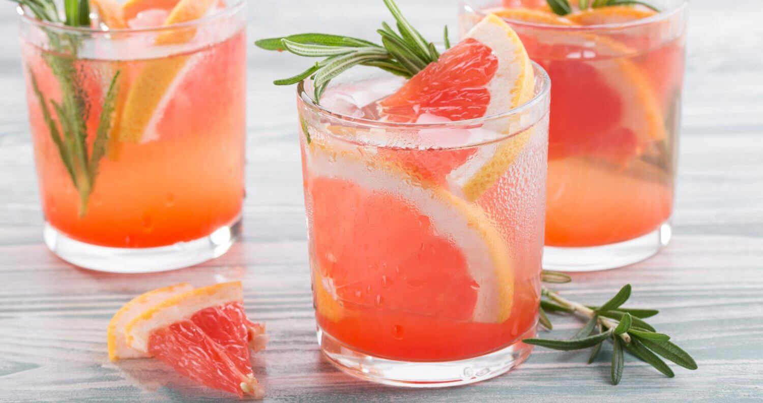 mixing with vodka cocktails with garnish, featured image
