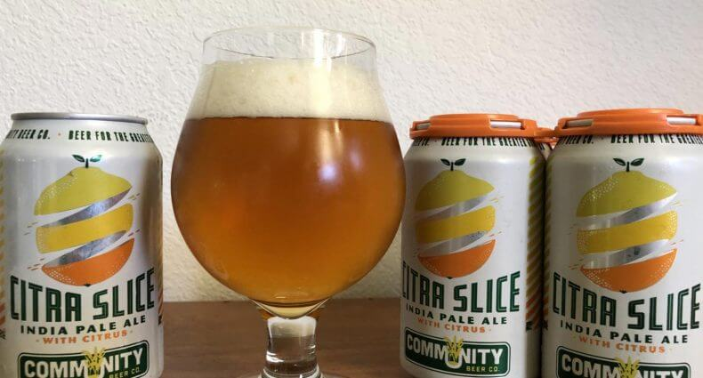 Community Beer Company Citra Slice IPA, featured image