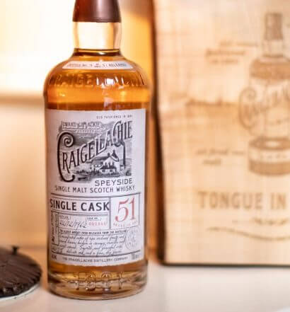 Craigellachie Whisky 51 Year, bottle and package, featured image