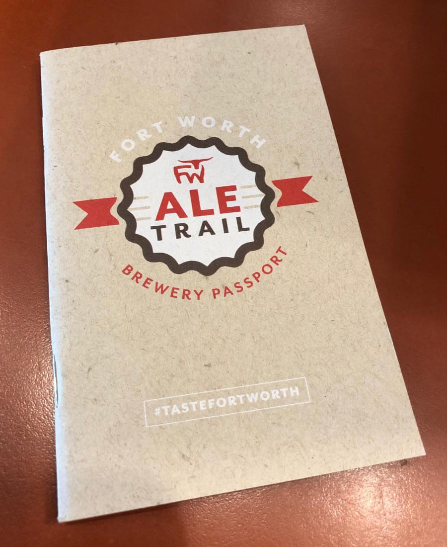 Fort Worth Ale Trail Brewery Passport