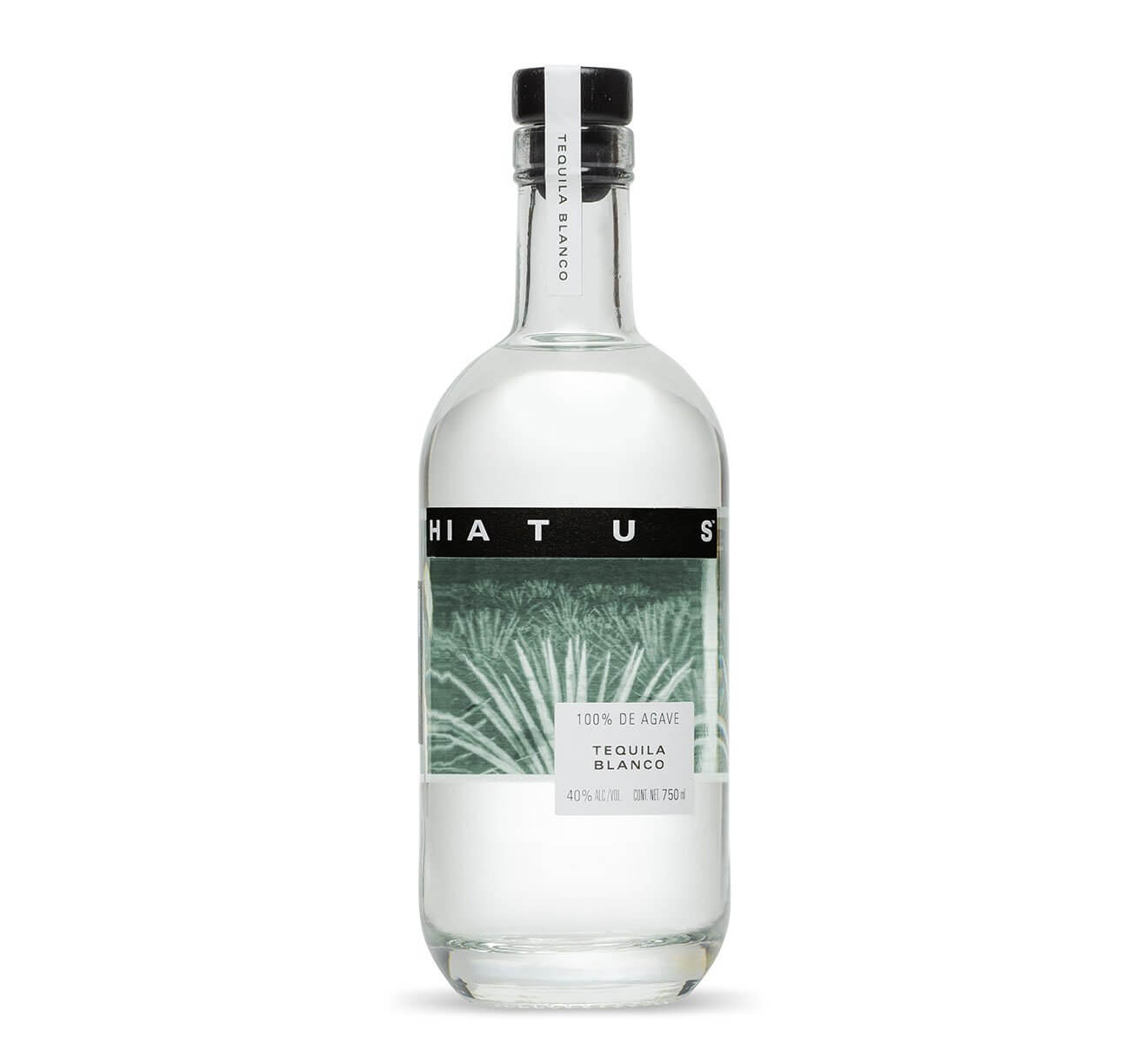 Hiatus Blanco, bottle on white