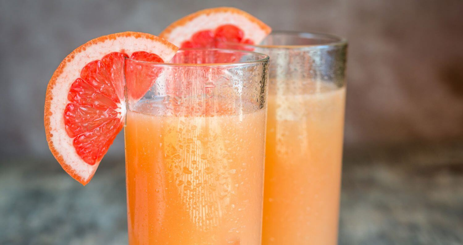 The Best Mixers for Tequila, cocktails with grapefruit garnish, featured image