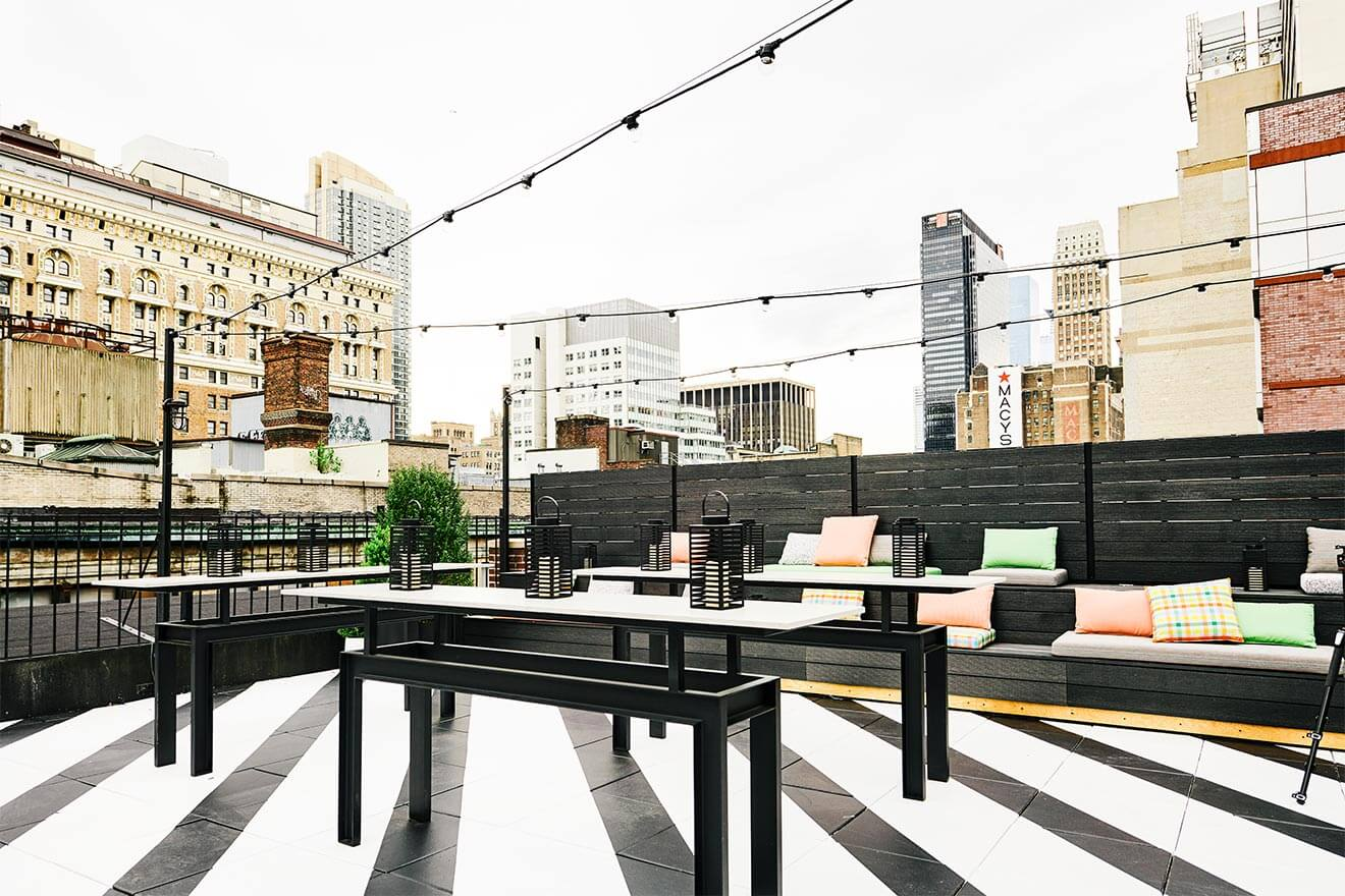The Lookup Rooftop bar with a view