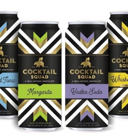 Cocktail Squad Ready-to-Drink Cocktails, canned flavor varieties, featured image