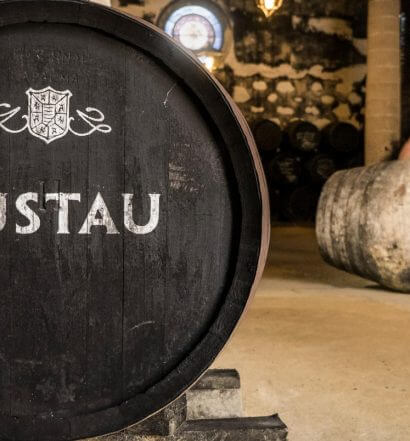 The Fourth Annual Lustau Solera Standout Competition, barrel room with wine maker