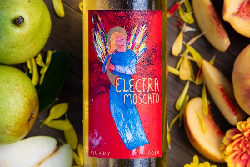 Quady Winery Electra Label
