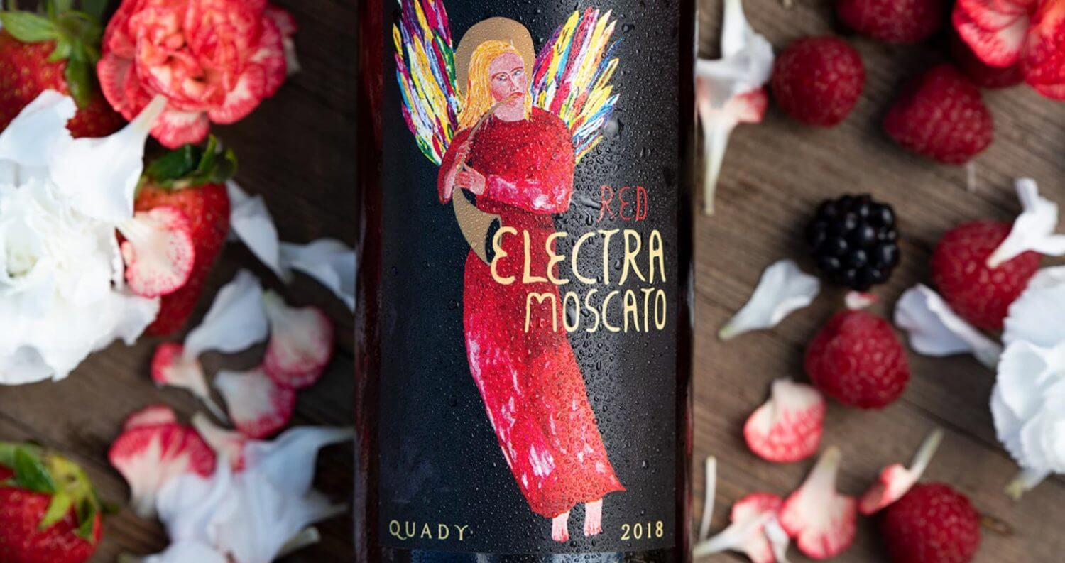 Quady Winery Electra Label, featured image