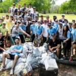 Bacardi CR Month Clean Up with Debri Free Oceans, group photo, featured image