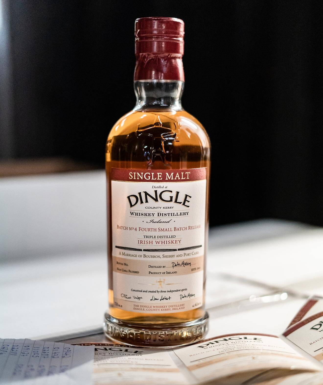 Dingle Single Malt Batch No. 4, bottle image